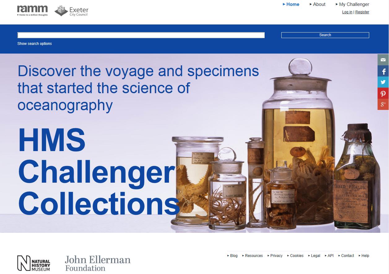 Challenger Website